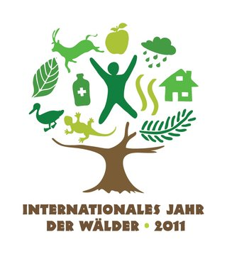 Logo German International Year of Forests 2011