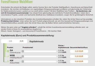 WaldMixer