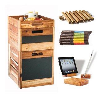 Von stilvollen Kisten aus nachhaltigem Akazienholz bis hin zu klimapositiver Schokolade – im TreeShop von ForestFinance shoppen Verbraucher mit gutem Gewissen.
