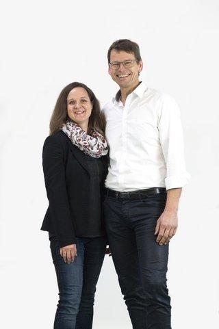 Christiane Pindur und Richard Focken